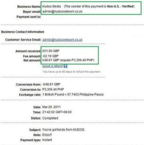 Paypal transfer MyFreeGadget.wordpress.com